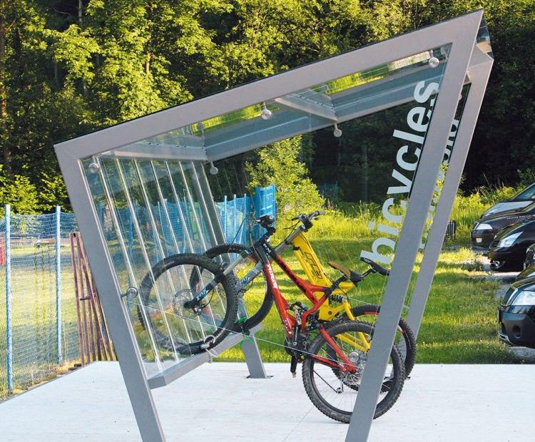 Велопарковки: модно, корисно, здорово.